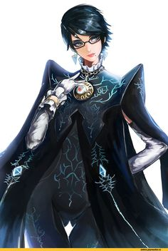 Bayonetta 2.   (I can't play this game :( The short hair though)