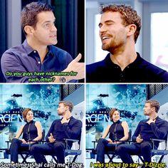 ~Divergent~ ~Insurgent~ ~Allegiant~ My brother calls me C- Dizzle!