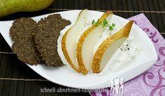 Gorgonzola-Creme mit Birne