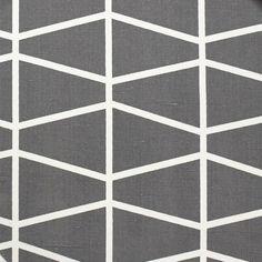Spira Fasett Grey Cotton & Linen Swedish Fabric