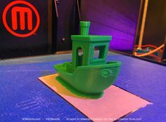 #3DBenchy printed on a MakerBot Replicator Desktop 5th Generation 3D printer.  The 3D-model: http://3dbenchy.com/download  The 3D-printer: http://www.creativetools.se/index.php?route=product/search&filter_name=MakerBot%20-%20Replicator%20Desktop  #3DBenchy, 3DBenchy, MakerBot, Replicator, Desktop, Gen5, 5th, Generation, 3Dprinter, 3D-printer, 3Dprint, 3D-print, Boat