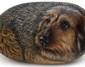 Custom Dog Portraits on Sea Rocks