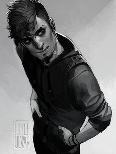 comm: jay by littleulvar.deviantart.com on @DeviantArt