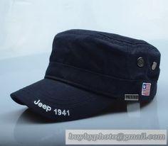 Jeep 1941 USA Flag Military Cap Flat-Topped Cap Mens Summer Hat Cap Girl Womens Fashion Retro Navy