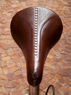 custom leather saddle #Bicycle #Bike #Leather