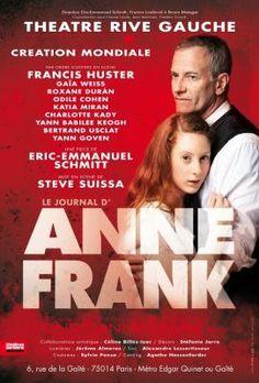Le Bouquinovore: Le Journal d'Anne Frank au théâtre Rive Gauche