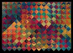 Quilt Inspiration: A fine art : the colorful quilts of Ann Feitelson, Basket Weave