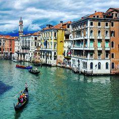 Venezia. View from the Rialto.
