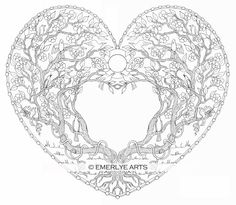 An adult coloring page
