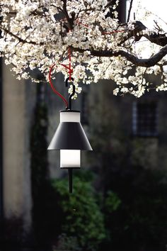 A light in the garden with Pistillo lamp by Emiliana Martinelli @martinelliluce