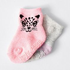 Baby Under Works 2 Pack Socks