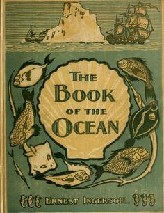Book cover. The book of the ocean.1898.