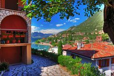 Malcesine, Garda Lake - close to Verona, Italy