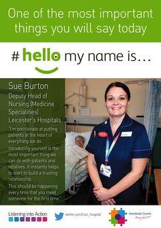 #hellomynameis... Sue Burton