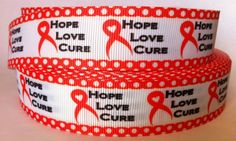 5+Yards+Hope+Love+Cure+1+inch+Grosgrain+Ribbon+1+by+RibbonsForLess,+$3.49 Hope Love, Awareness Ribbons, Baking Ingredients, Grosgrain Ribbon, Coffee Cans, Cookie Dough, Yards, The Cure, Food
