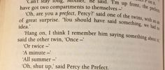 This took me song to reliaze  that this is Harry Potter and not Percy Jackson