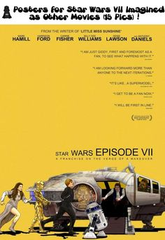 Posters for Star Wars VII Imagined as Other Movies (15 Pics)