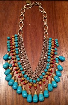 Turquoise, make a statement.
