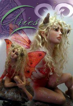 Aries zodiac fairy OLD PIECE by ~cdlitestudio on deviantART
