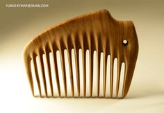 wood combs on Behance