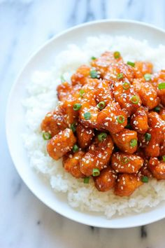 Baked Sweet and Sour Chicken - Damn Delicious Asian Recipes, Healthy Recipes, Chinese Recipes, Chinese Food, Chinese Desserts, Sweet Sour Chicken, Asian Chicken, Sesame Chicken, Orange Chicken