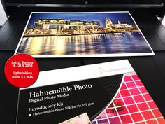 #Photokina 2014 is ahead. Artist Signings and exclusive editions on #Hahnemühle FineArt #Inkjet #Photo #Paper. Here: Cologne by night ©Jochen Brillowski on #PhotoSilk #Baryta #Inkjet #Paper. Visit us @Photokina 2014 September, 16 -21 hall 3.1, A25. www.hahnemuehle.com, www.brillowski.com