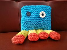 Check out this item in my Etsy shop https://www.etsy.com/ca/listing/489000490/colourful-knit-monster-toy