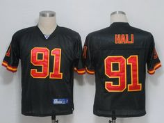 Online Sale NFL Jerseys Kansas City Chiefs 91 HALI Black Cheap