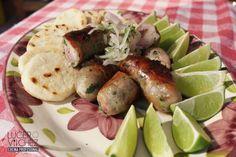 CHORIZO ANTIOQUEÑO   Lucero Vilchez Cocina Colombian Food, Sausage, Meat, Gastronomia, Recipes With Chorizo, Cold Cuts, Liqueurs, Meals, Colombian Cuisine