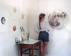 old moon studio | stella maria baer | VSCO Grid
