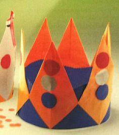 knutselen koningsdag kroon - Google zoeken