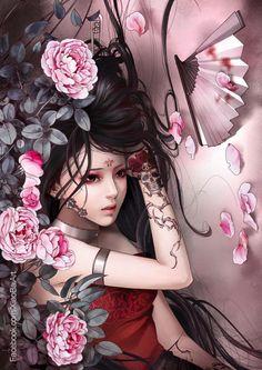 Fantasy painting - Zhang Xiao Bai