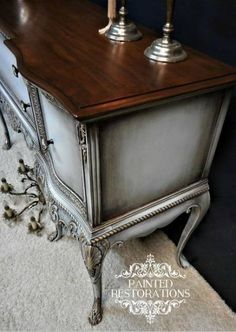 Refinishing Furniture Diy Dresser Dark Wax Best Ideas furniture before and after furniture diy furniture distressed furniture whimsical Refurbished Furniture, Repurposed Furniture, Shabby Chic Furniture, Furniture Projects, Furniture Making, Furniture Makeover, Furniture Refinishing, Vintage Furniture, Furniture Design
