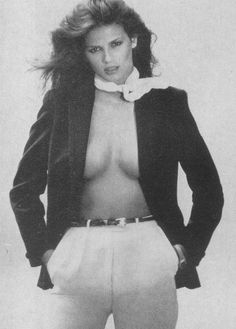Gia Carangi photographed by Andrea Blanch, featured in Vogue Patterns - May 1979