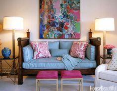 Joe Nye Condo Decorating Ideas - Hollywood Regency Decor