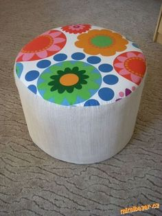 How to DIY Simple Ottoman from Plastic Bottles | iCreativeIdeas.com Like Us on Facebook ==> https://www.facebook.com/icreativeideas
