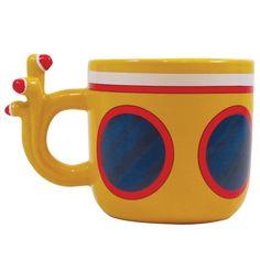 The Beatles Ceramic Coffee Mug: Yellow Submarine - Heat Reactive Mug