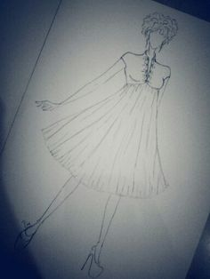 Babydoll cut, try to make a sketch.. :P