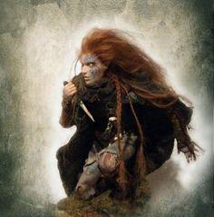 Female Celtic warrior.