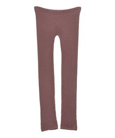 Taupe Waffle Leggings by Whitney Eve on #zulily