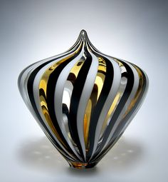 Wow! David Patchen art glass, again. They are all gorgeous.