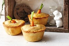 These petite pies are packed with the best winter-veg and will be a sure-fire hit with the kids.