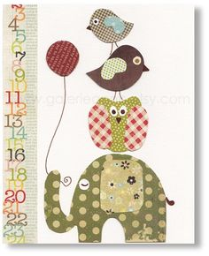 Cute art print, I think you could make this yourself!!  I'm going to try, I love it!!