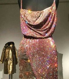 Ooooh, la, la Vintage Gianni Versace Crystal Cocktail Dress