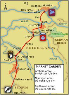 Operation Market Garden. The Battle of Arnhem. A Bridge Too Far. Sept/1944