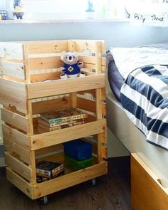 IKEA KNAGGLIG: Die 5 besten Hackideen für Kinder You are in the right place about baby room decor modern Here we offer you the most … Ikea Closet Hack, Ikea Hack Storage, Closet Hacks, Diy Storage, Ikea Hacks, Shabby Chic Toy Storage, Ikea Kids, Kura Ikea, Trofast Ikea