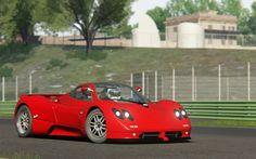 Assetto Corsa - Pagani Zonda C12 at Circuit Vallelunga