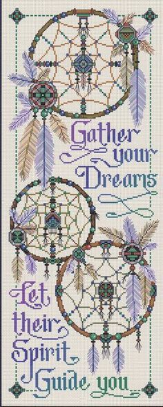 Gather Your Dreams - Cross Stitch Pattern