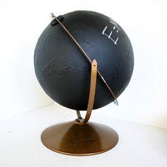 Chalkboard Globe by ConceptFurnishings on Etsy, $45.00