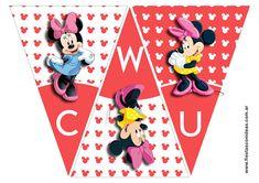 Banderines de Minnie Disney